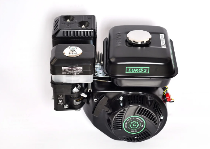 Двигун бензиновий GrunWelt GW170F-S NEW Євро 5 (шпонка, вал 20 мм, 7.0 л. с.)
