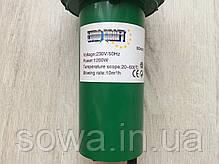Фен для сварки и пайки с насадками Euro Craft ECHG12 ( 1200Вт, 600°C ), фото 2