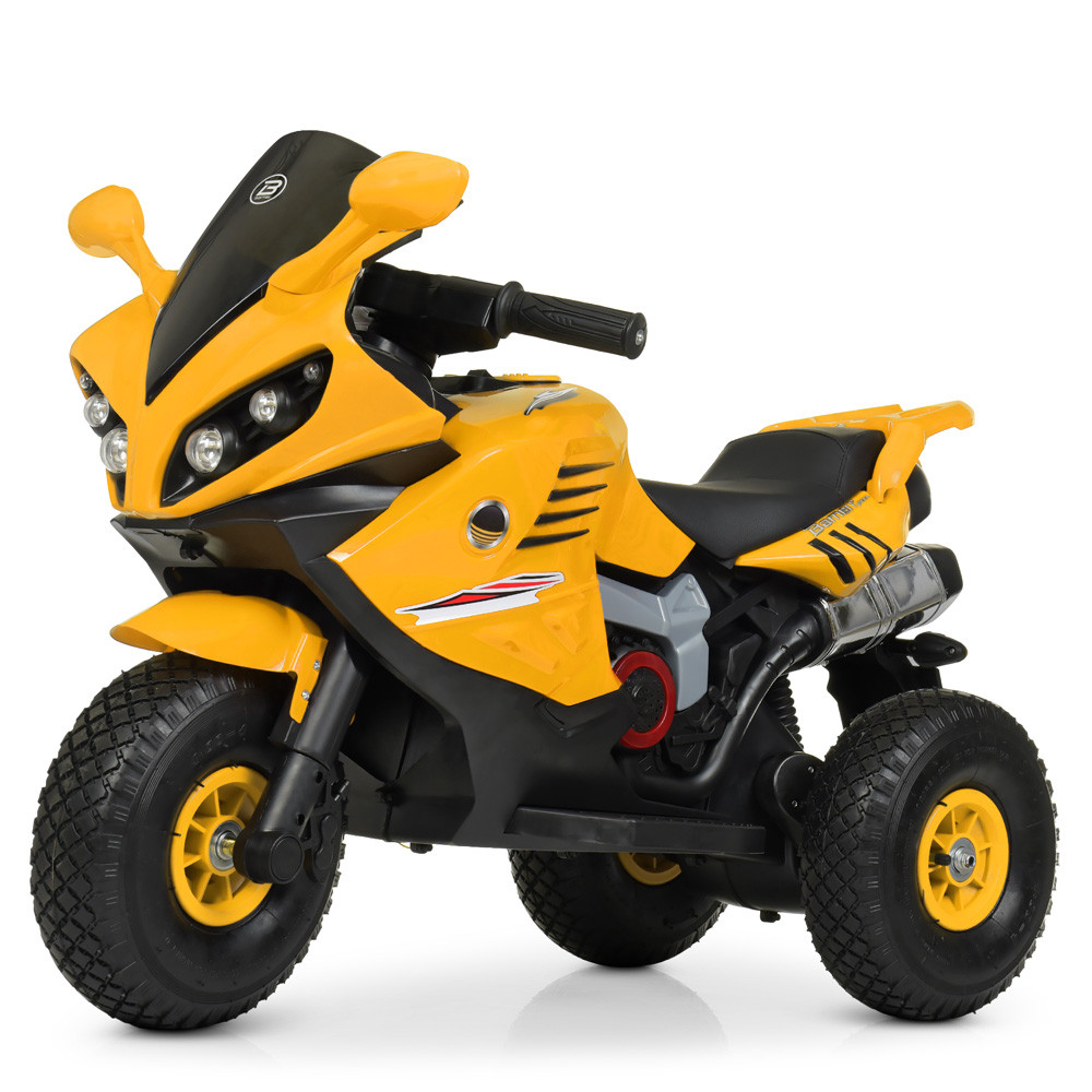 Електромобіль Мотоцикл M 4216AL-6 жовтий BAMBI