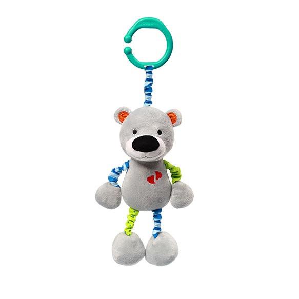 Игрушка подвеска с вибрацией  BEAR BASIL тм Babyono