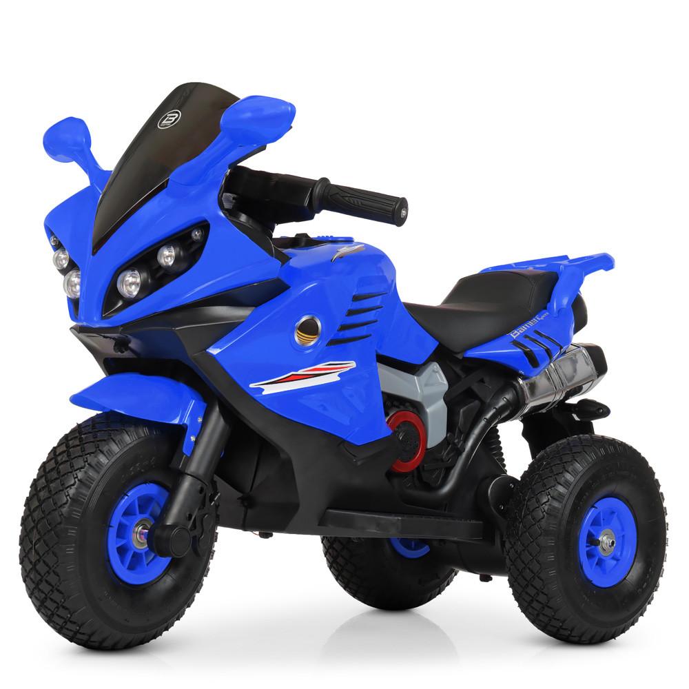 Електромобіль Мотоцикл M 4216AL-4 синій BAMBI