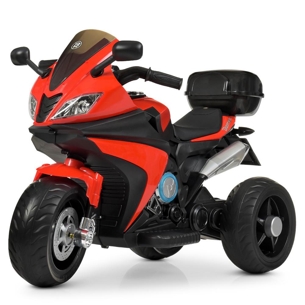 Електромобіль Мотоцикл M 4195EL-3 червоний BAMBI
