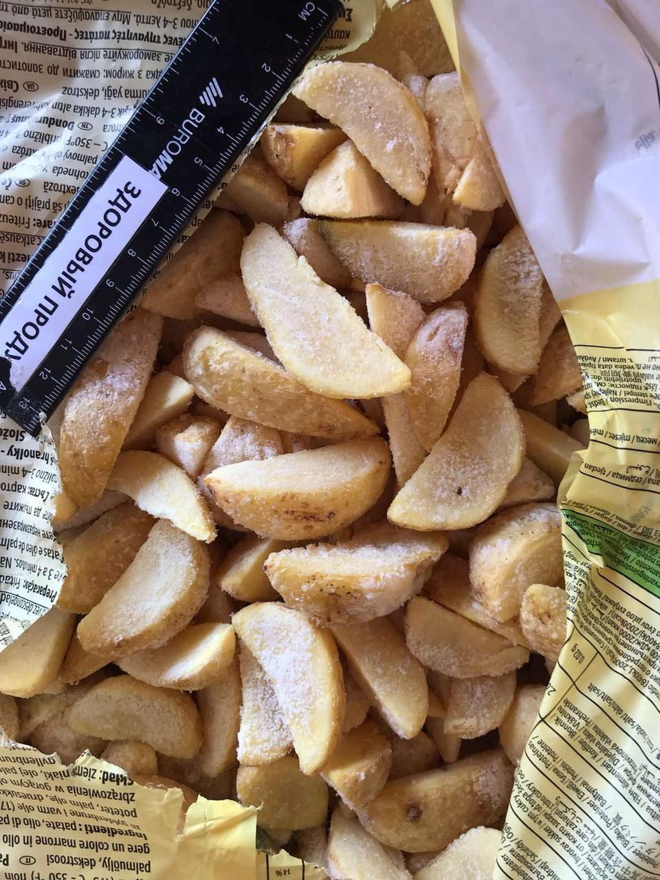 Дольки по селянски с кожурой картофельные от 2,5 кг