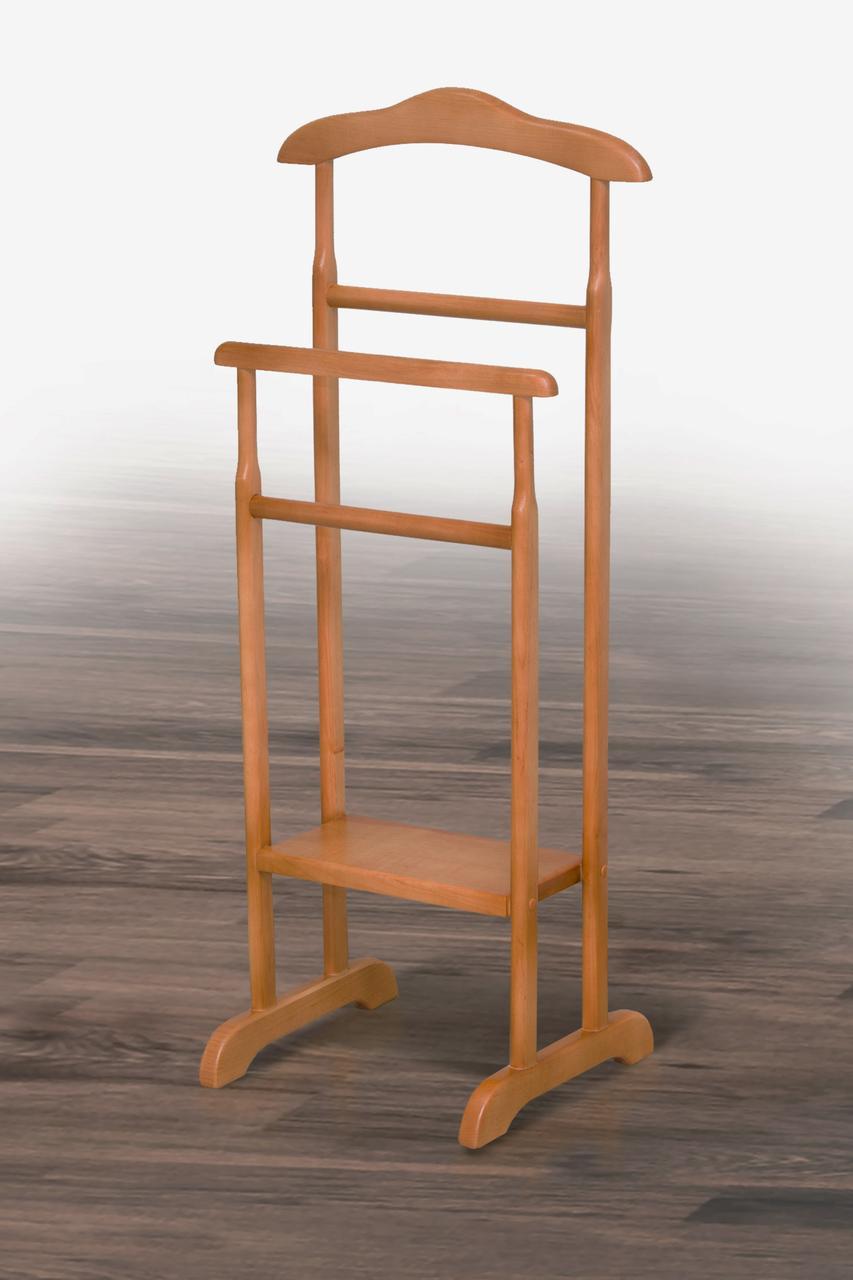 Вешалка напольная деревянная Сигма (ольха)