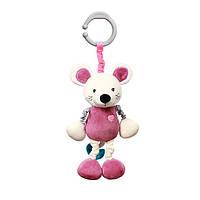 Іграшка-підвіска з вібрацією MOUSE SYBIL тм Babyono, фото 1