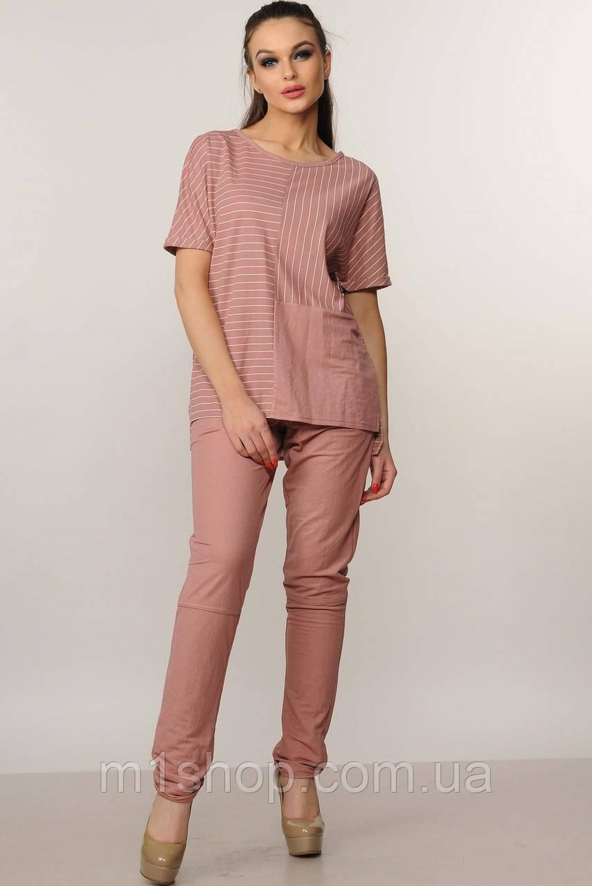 Женский костюм с блузкой в полоску (Хейди ri)