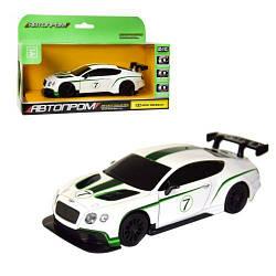 """Машинка """"Bentley Continental"""" из серии """"Автопром"""" (белая)  scs"""