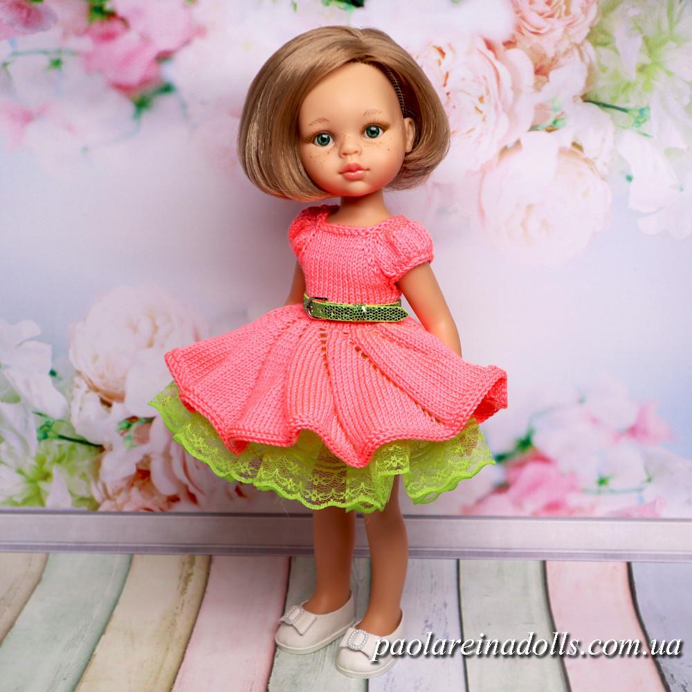 Платье Цветочная Фея для кукол Паола Рейна