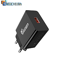 Зарядное устройство Tiegem Quick Charge 3.0 Mini TG1U01-QC3 Black