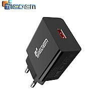 Сетевое зарядное устройство для быстрой зарядки USB QC3.0 зарядный блок зарядка для телефона смартфона TG1B