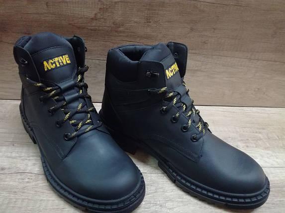 Мужские ботинки зимние МИДА 140001 из натуральной кожи, фото 2