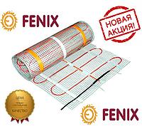 Электрический пол FENIX (Мат) 6.4 м\кв. Мощность 1300 Вт. Нагревательный мат 160 Вт\м.кв под плитку