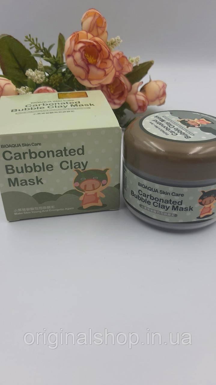 Кислородная маска Bioaqua Skin Care Carbonated Bubble Clay Mask