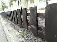 Секция забор декоративный штакетник №13 сухая строганная доска