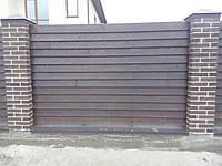 Секция забор деревянный лесенка  2,0х2,0м сухая строганная доска