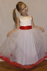 """Платье """"Лепестки роз"""" р-ры на рост 104 - 134 см"""