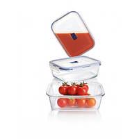 Набор контейнеров для еды Luminarc Pure Box 4 штуки 380/820/1220/1970мл ударопрочное стекло (5277P)
