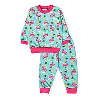 Пижама для девочки с начесом