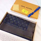 Хустку, шаль, палантин Луї Вітон з люрексом, якістю ААА, фото 3