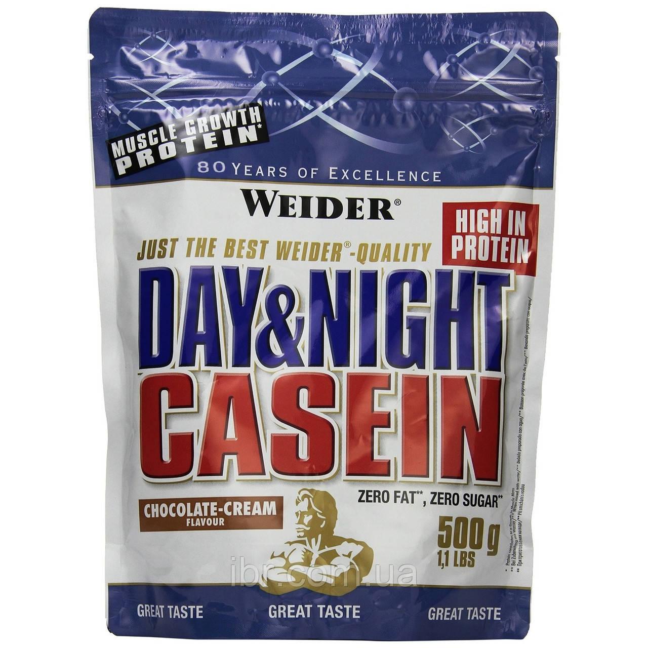 Протеїн WEIDER DAY&NIGHT CASEIN 500 г Шоколад-крем