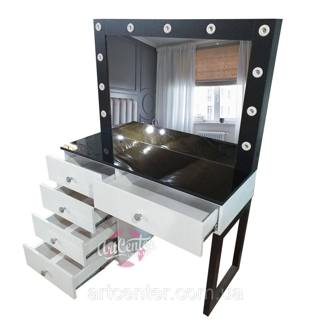 """Визажный стол """"Лофт"""", стол для макияжа"""