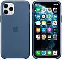 Чехол (Silicone Case) для iPhone 11 Pro Original Alaskan Blue, фото 2