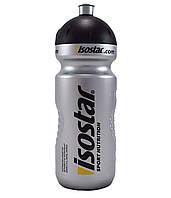 Фляга велосипедная Isostar500 мл, черно-серая