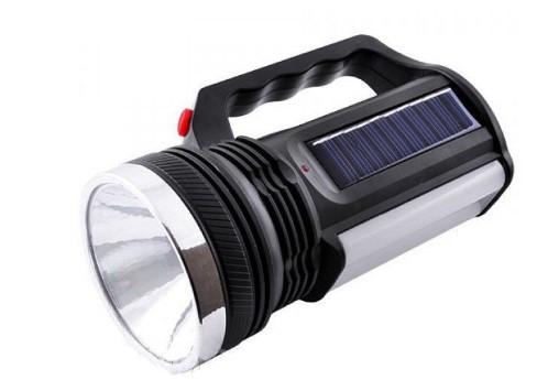 Фонарик аккумуляторный с солнечной панелью YJ-2836T