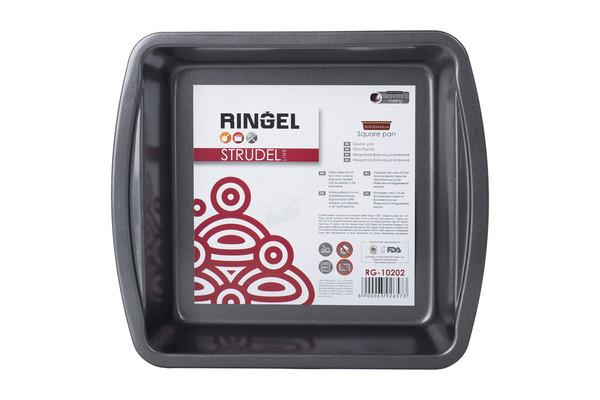 Форма для выпечки Ringel Strudel прямоугольная 26,2х23,6 см h4,4 см сталь углеродистая (10202 RG)