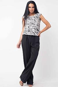 Женский костюм с блузкой и черными брюками (Китти-Марти ri)