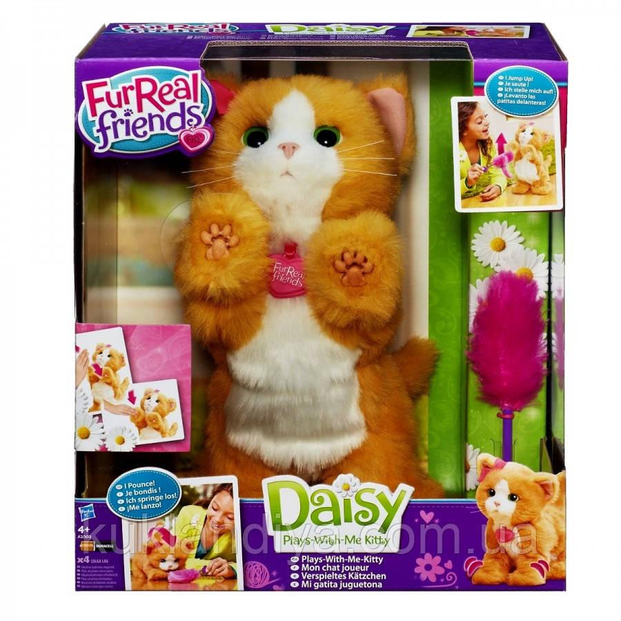 Дейзи интерактивная игривая кошечка - FurReal Friends Daisy Hasbro