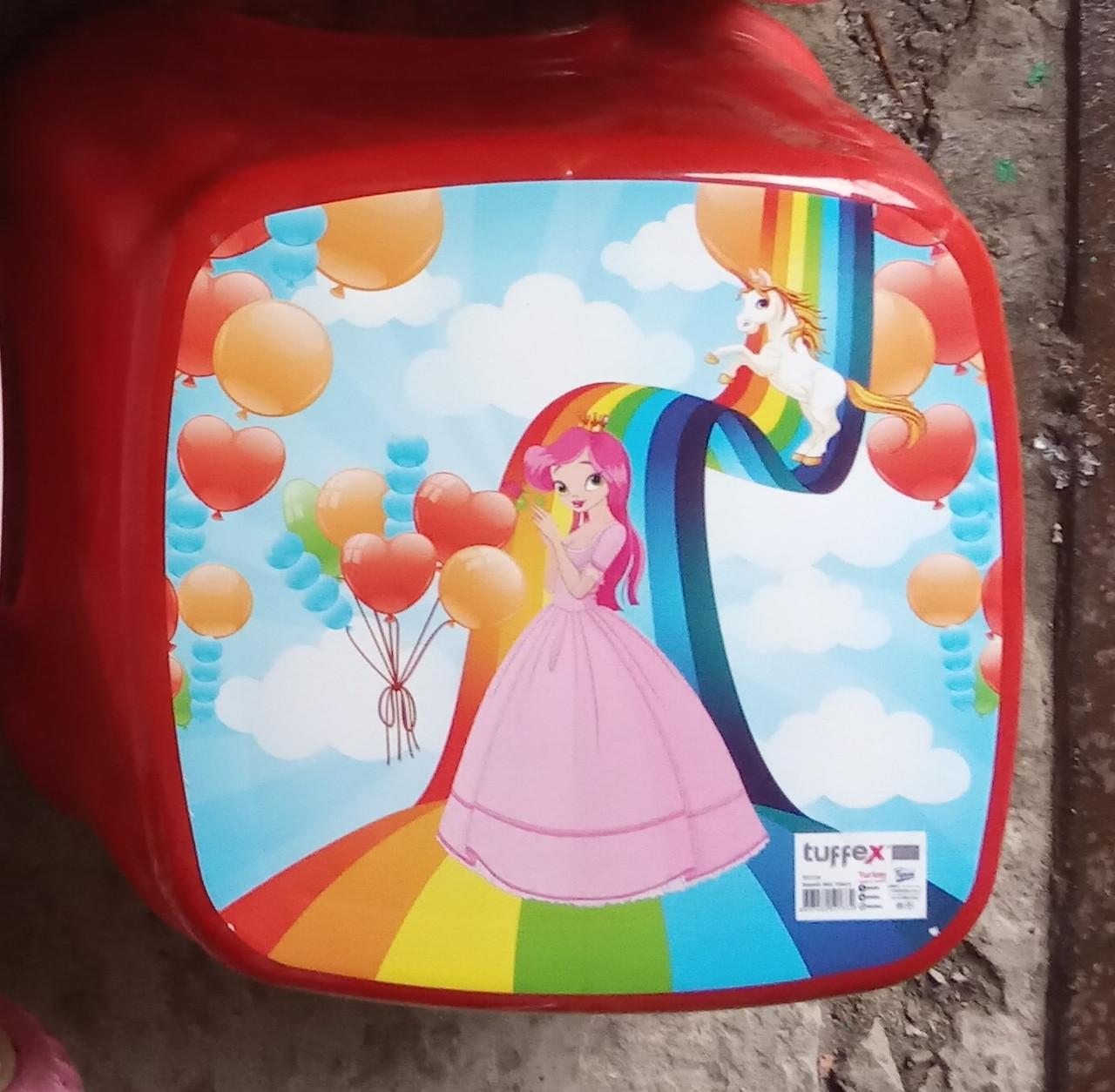 Табурет детский стульчик ТР 2130 Турция красный