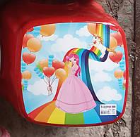 Табурет дитячий стілець-підставка Стілець-стільчик дестких, стільчик ТР 2130 Туреччина червоний, фото 1