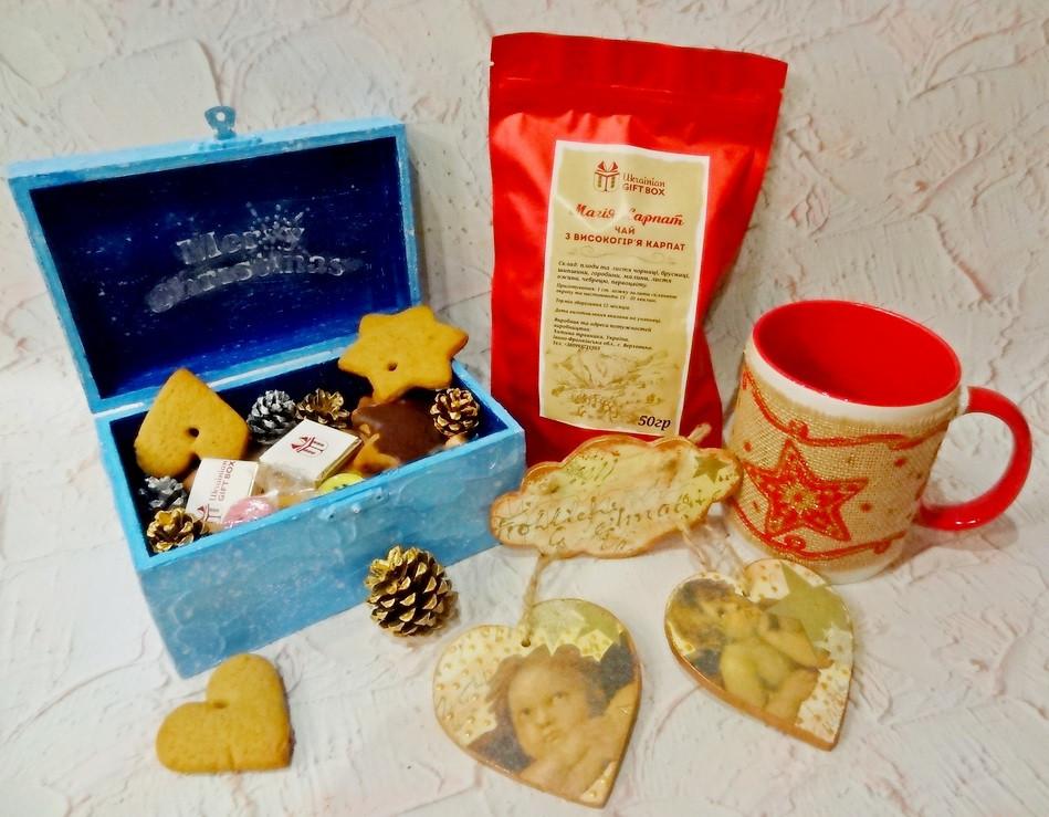 Оригинальный подарок на Новый Год - подарочный набор «Рождество»