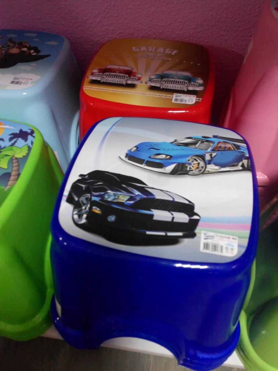 Табурет детский стульчик ТР 2130 Турция синий