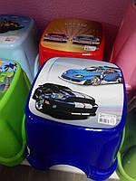 Табурет детский стульчик ТР 2130 Турция синий, фото 1