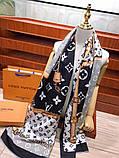 Шарф, палантин от Луи Витон кашемир, реплика, фото 6