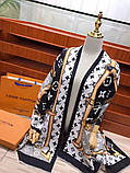 Шарф, палантин от Луи Витон кашемир, реплика, фото 8