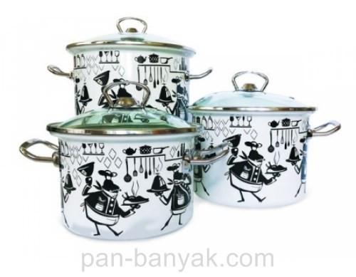 Набор посуды Epos Cook 6 предметов емаль (№1500 Cook)