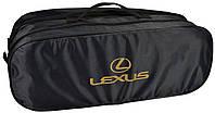 Сумка-органайзер в багажник Lexus чорна, фото 1