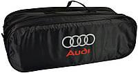 Сумка-органайзер в багажник Audi чорна