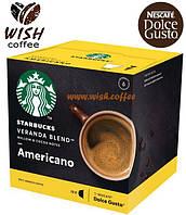 Новинка! Dolce Gusto Starbucks Americano Veranda Blend (12 порций)