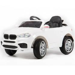 Эл-мобиль FL1538 (T-7830) EVA  WHITE джип на Bluetooth 2.4G Р/У 2*6V4,5AH мотор 2*25W с MP3 104*64*5