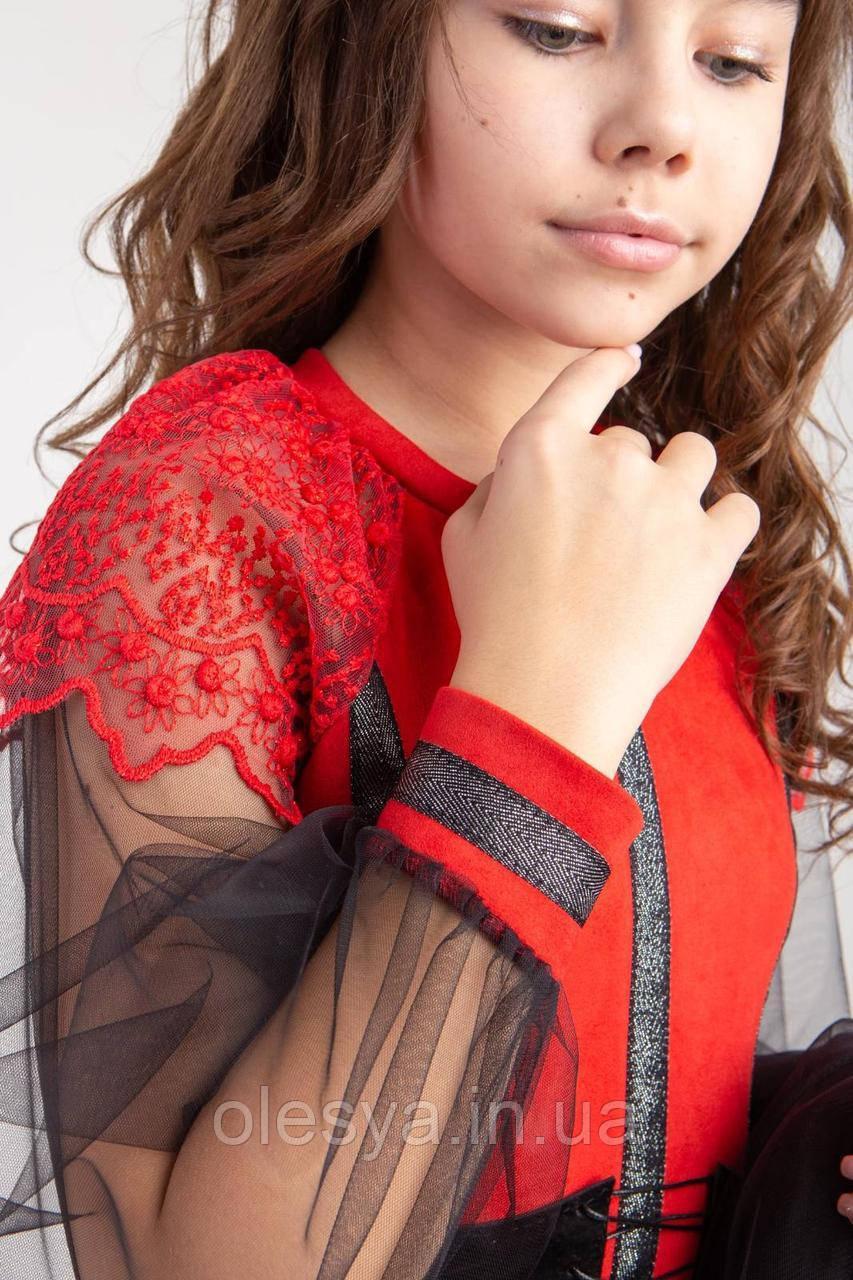 Стильный нарядный комплект для девочек Карамель Размеры 140- 164 Новинка!