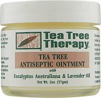 Антисептическая мазь с маслами эвкалипта, лаванды и чайного дерева Tea Tree Therapy (США)