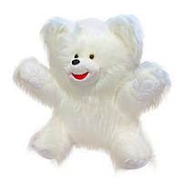Мягкая игрушка Zolushka Медведь Умка длинный ворс маленький 50см (105)