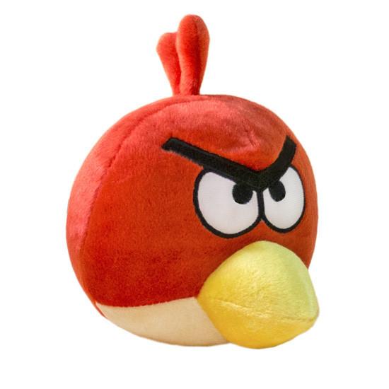 Мягкая игрушка Weber Toys Angry Birds Птица Ред большая 28см (553)