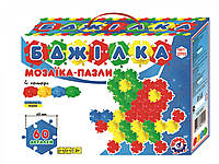 Мозаика-пазл ТехноК Пчелка 60 деталей Разноцветный gabrp140Mpvq86732, КОД: 916418