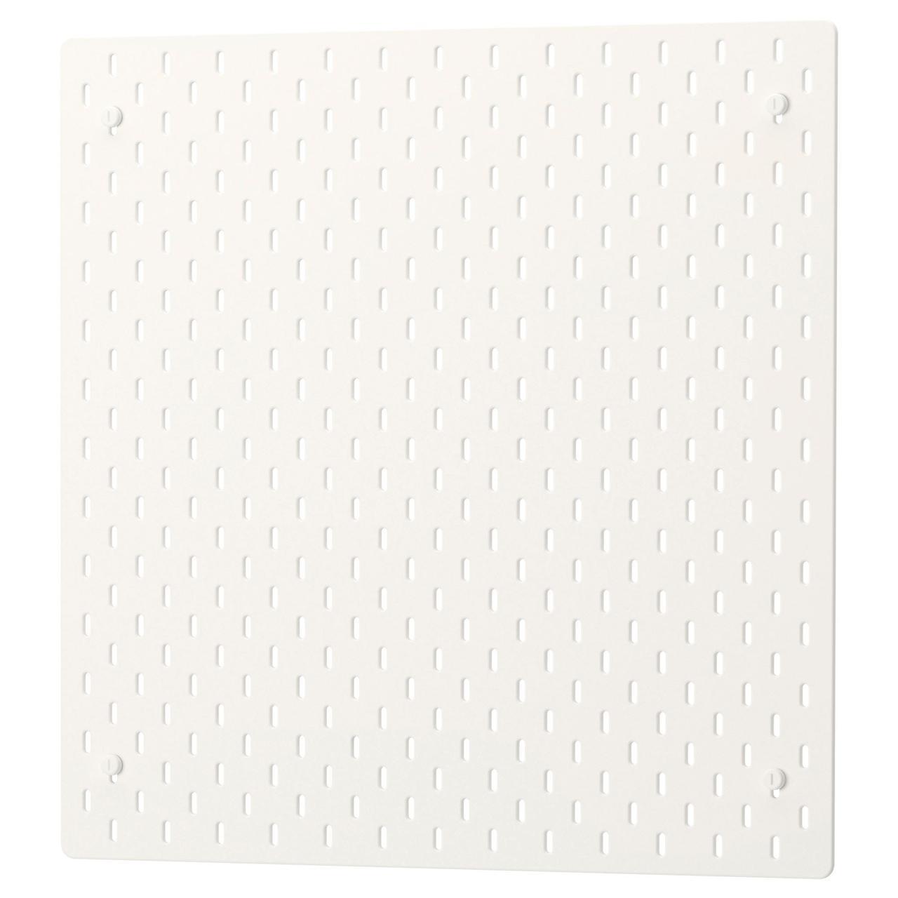 Настенная панель IKEA SKÅDIS белый 56x56 см 003.208.03