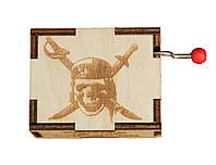 Музыкальная шкатулка Ben Wooden из дерева ручной работы Пираты карибского моря BW2012, КОД: 1332669